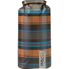SealLine Discovery Sac de compression étanche 20l, olive plaid